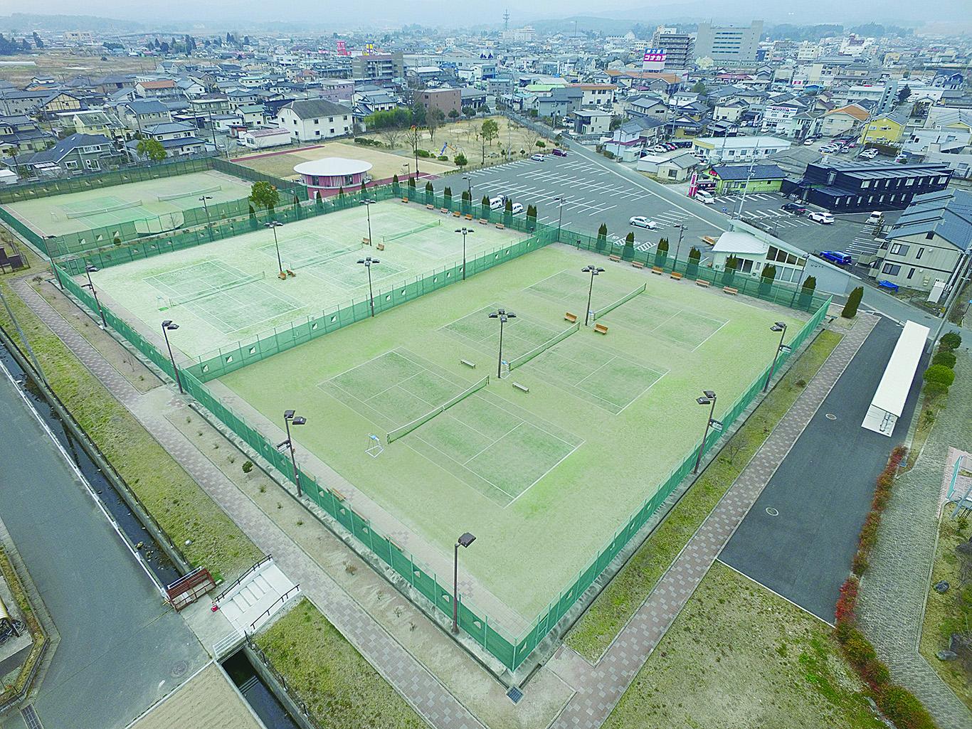 相馬角田公園テニスコート