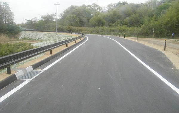 市道金草線復興道路舗装工事