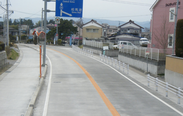 相馬亘理線舗装補修工事(コンクリート舗装)