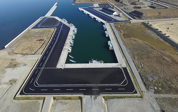 磯部漁港災害復旧工事