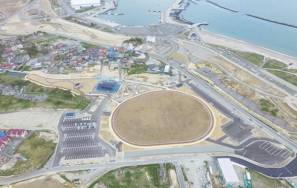 尾浜復興広場 駐車場