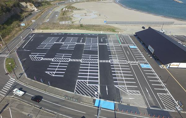 浜の駅 駐車場